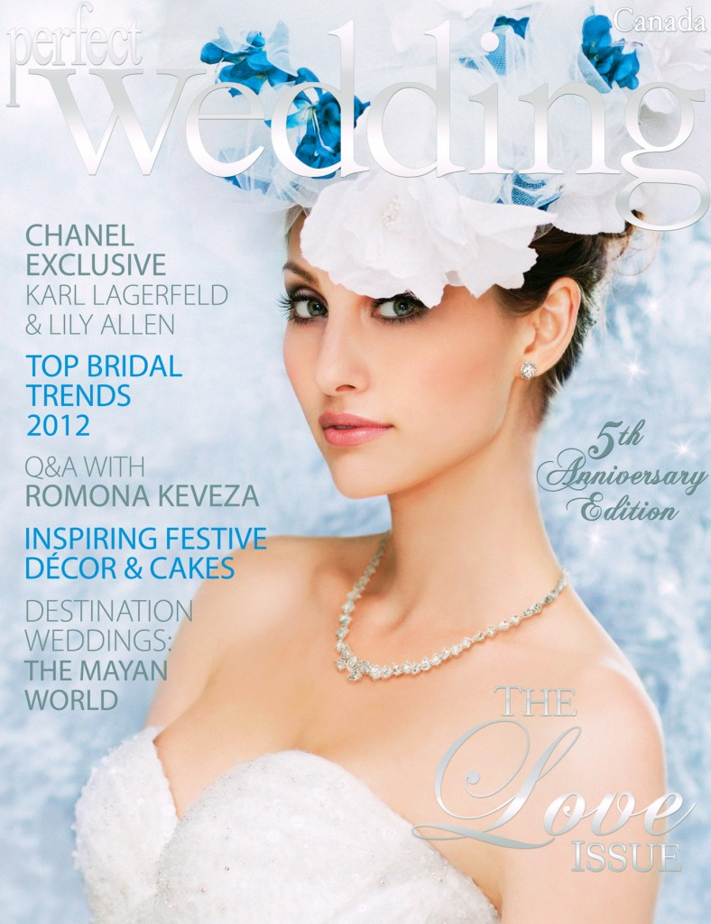 Perfect Wedding The Love Issue Cover
