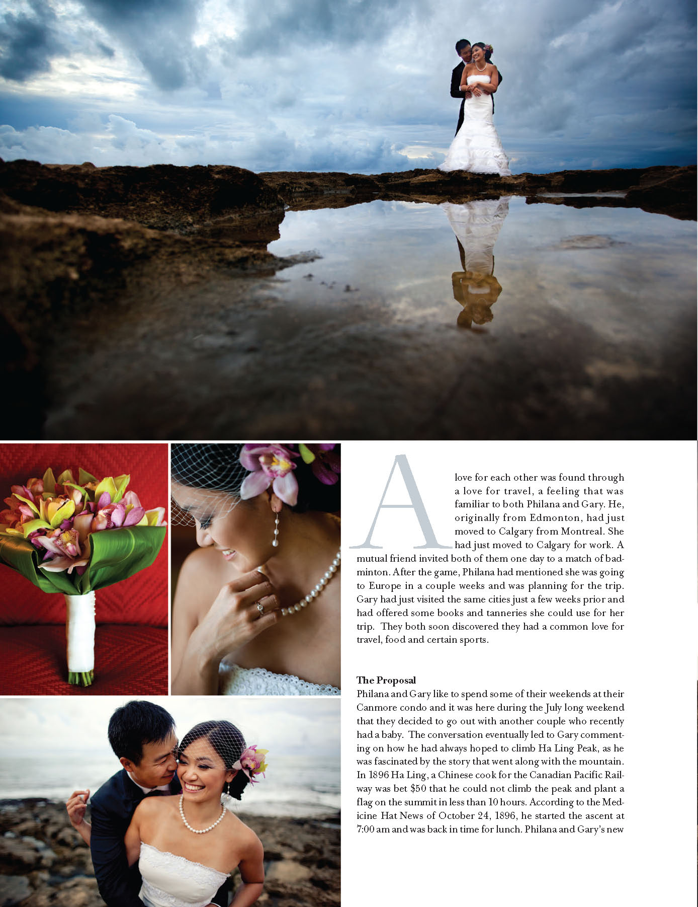 Perfect Wedding 2011/2012 In Love Issue - Hawaii Wedding Feature