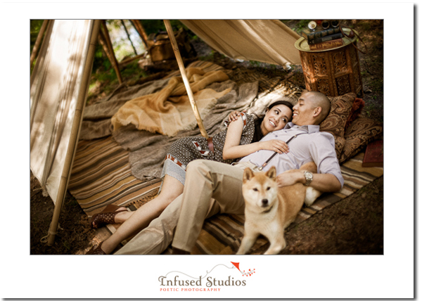 Jenn + Randy :: Glamping E-session