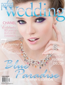 Perfect Wedding Magazine -  Winter 2013 cover