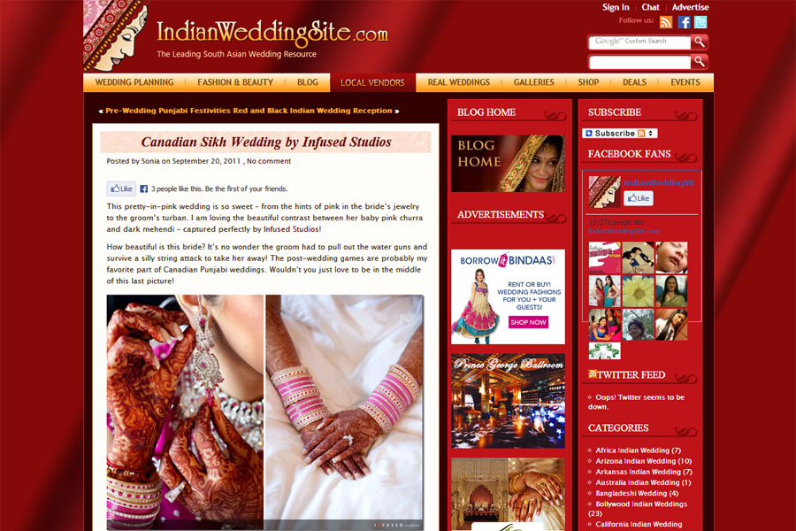 Publications :: Indian Wedding Site
