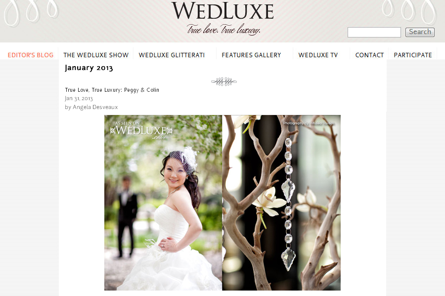 Peggy + Colin :: Wedluxe