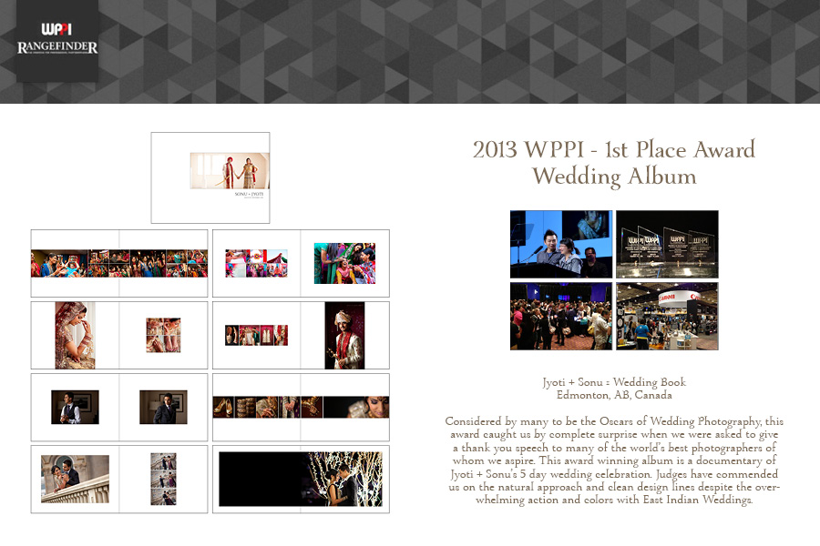 Award Winning Wedding Photographers :: Award Winning Wedding Album