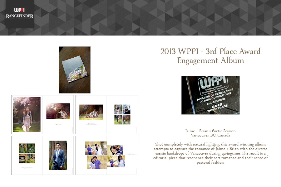 Award Winning Wedding Photographers :: Award Winning Engagement Album