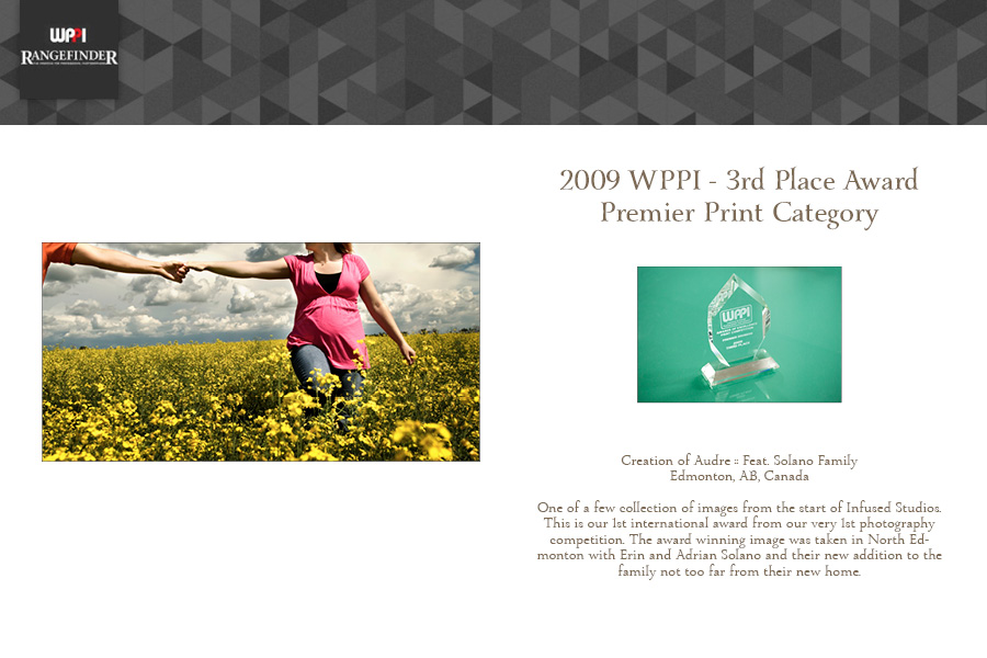 Award Winning Wedding Photographers :: WPPI Print Competition