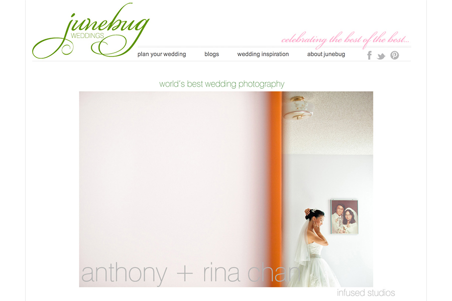Junebug Weddings :: Best of best wedding photography 2012