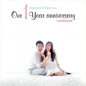 Stephanie + Ryan :: Anniversary cookbook
