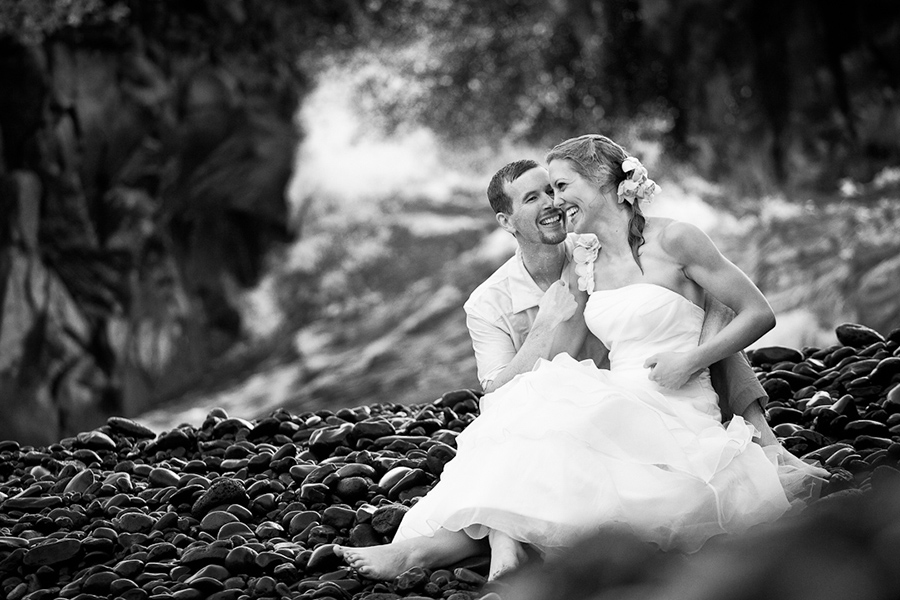 Post swim :: Hawaii Wedding Photography by infusedstudios.ca