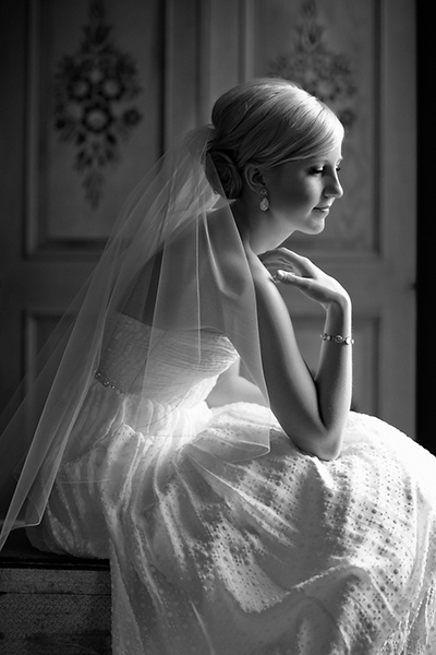 Elegant profile shot :: Canmore Wedding Photography by infusedstudios.ca