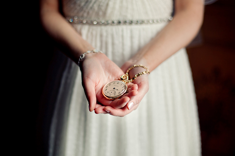 Heirloom pocket watch :: Canmore Wedding Photography by infusedstudios.ca