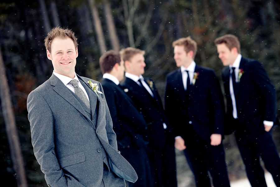 Chris + Groomsmen :: Canmore Wedding Photography by infusedstudios.ca