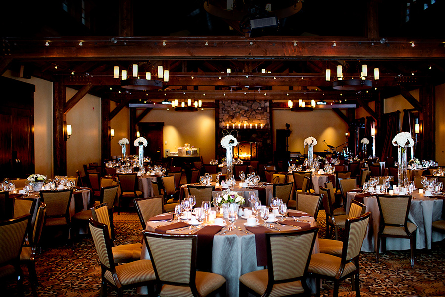 Reception venue :: Canmore Wedding Photography by infusedstudios.ca
