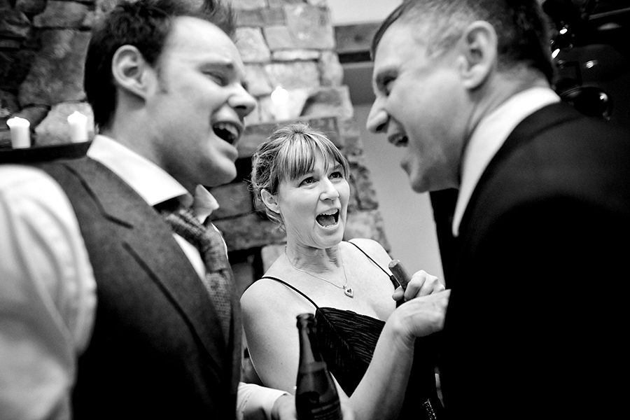 Sing off :: Canmore Wedding Photography by infusedstudios.ca