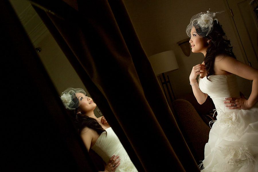 Bride portrait :: Wedding Photography Calgary
