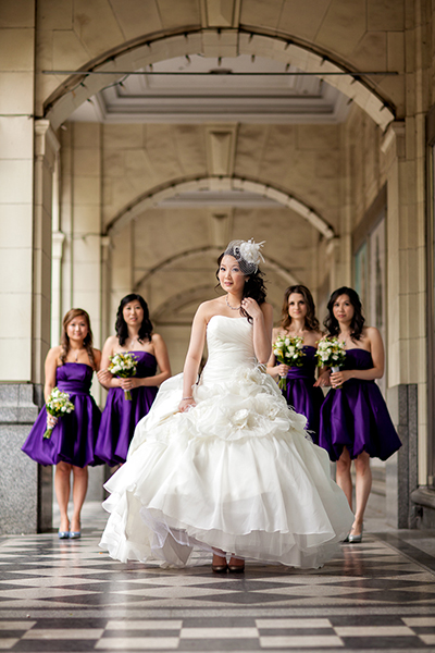 Bride + Bridesmaids :: Wedding Photography Calgary