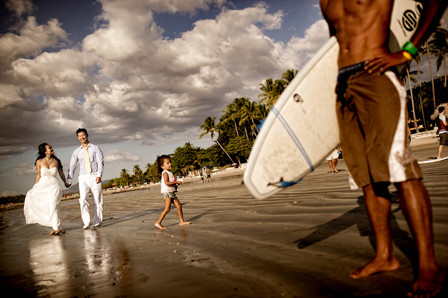 Surf's up :: Destination Wedding Photography