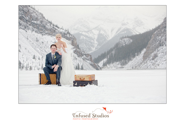 Canmore Winter Wedding