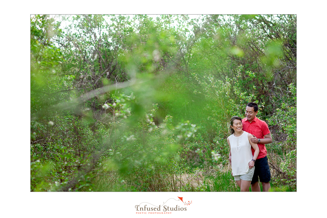 St Albert wedding & engagement photographers :: Rosanna + Chris' outdoor engagement
