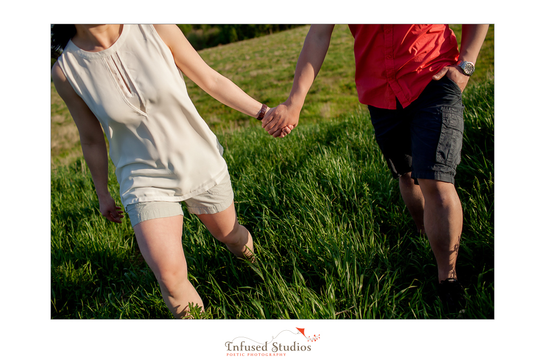 St Albert wedding & engagement photographers :: Rosanna + Chris' artistic engagement