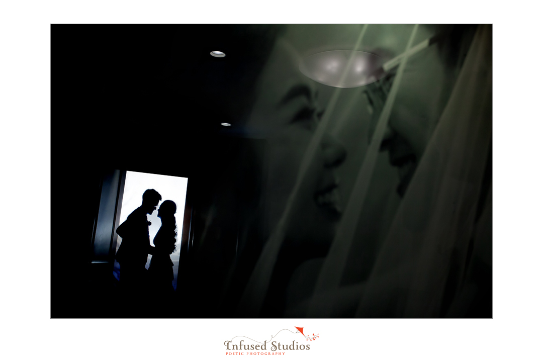 Silhouette wedding photography :: end of night creatives of Joanna + Charles