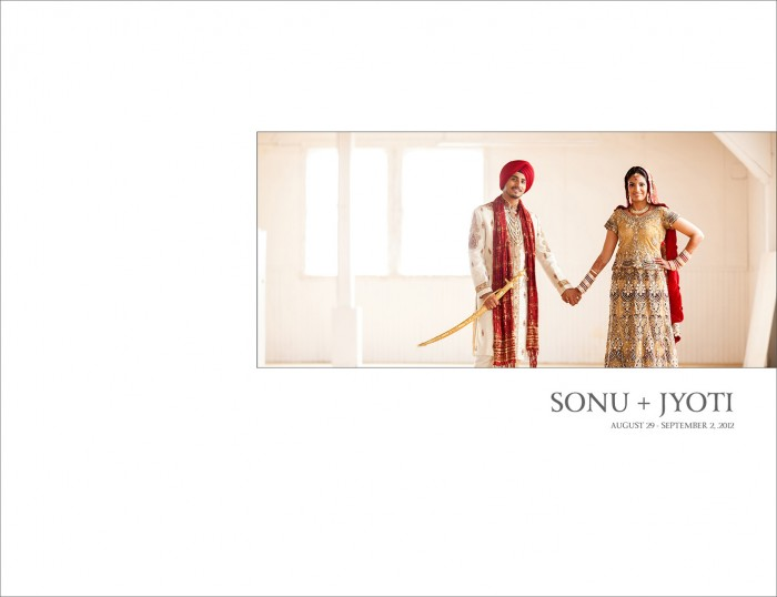 Sonu + Jyoti :: Wedding Album Cover