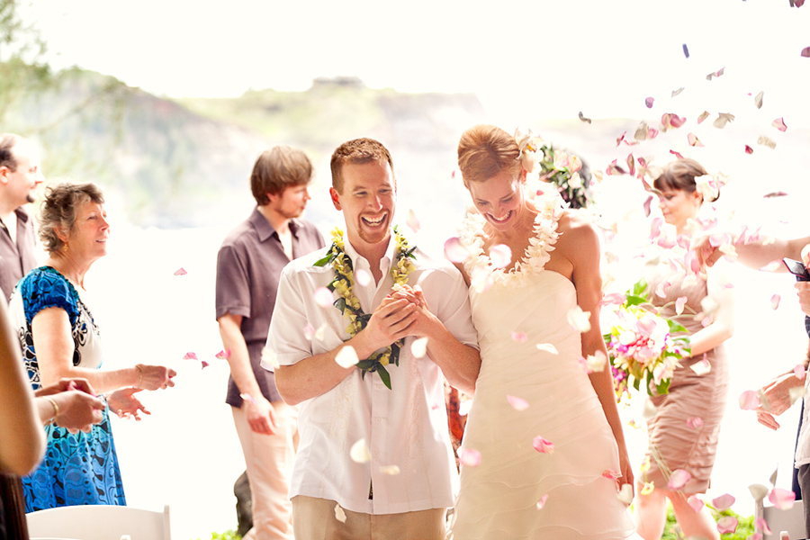 Confetti  :: Hawaii Wedding Photography by infusedstudios.ca