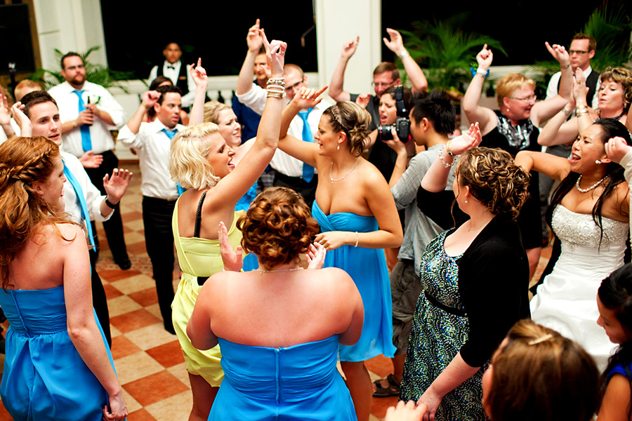 On the dance floor :: Destination Wedding Photography by infusedstudios.ca