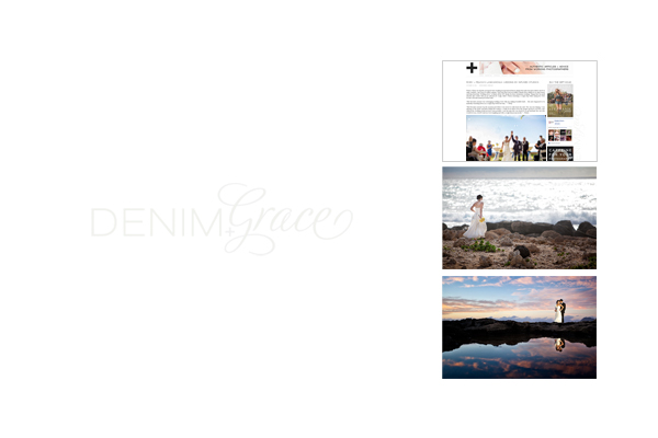 Hawaii Destination Wedding :: Featured on Denima + Grace