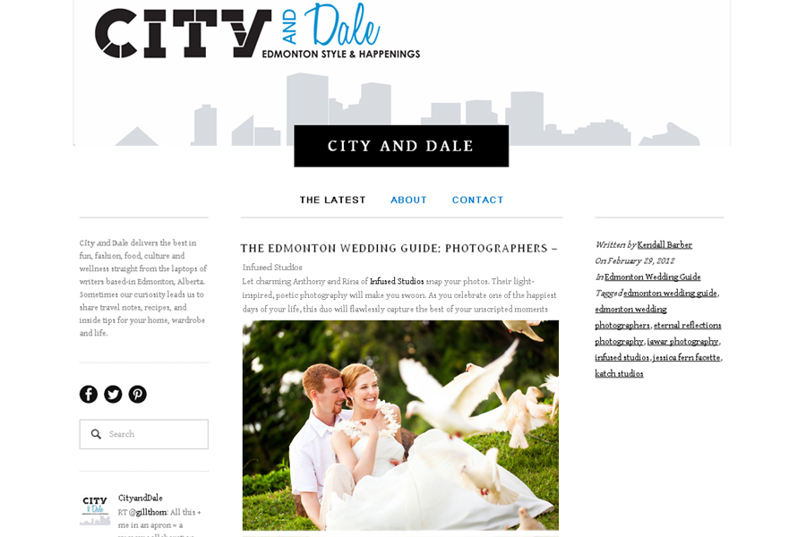 City and Dale's Guide to Edmonton Wedding Photogrpahers