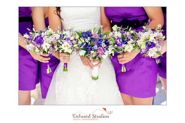 Bridal Bouquets, Lake Louise Wedding Photography