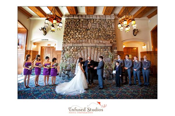 Fairmont Lake Louise Wedding, Chateau