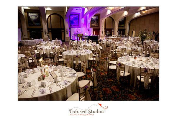 Fairmont Chateau Louise, Reception Setting