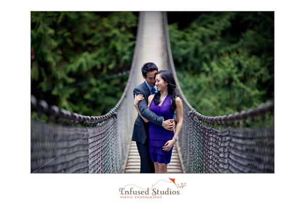 Vancouver Engagement Photos :: Jaime + Brian, bridge