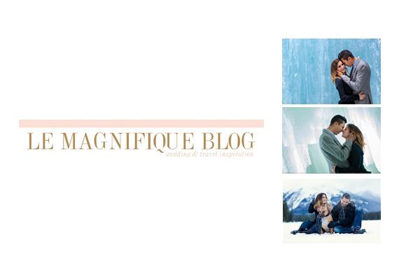 Featured Winter Engagement Photos on Le Magnifique