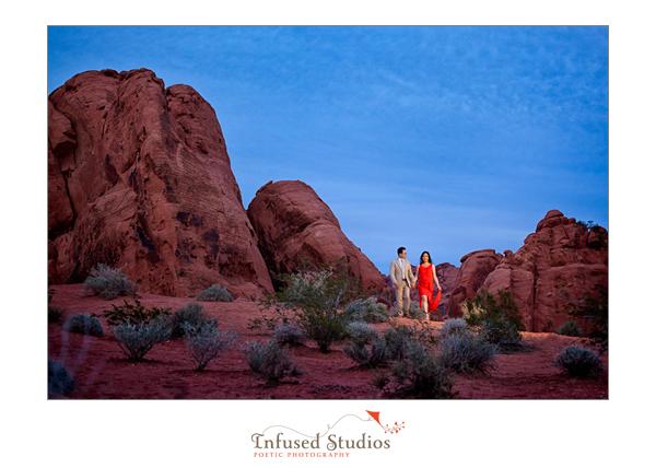 Desert Engagement Session :: Nevada