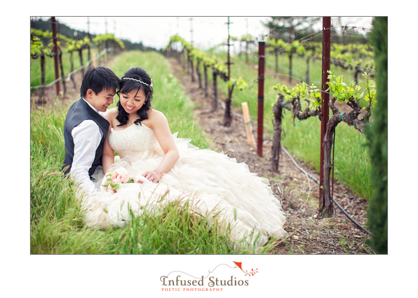 Tammy + Dickson :: Napa Valley pre-wedding shoot