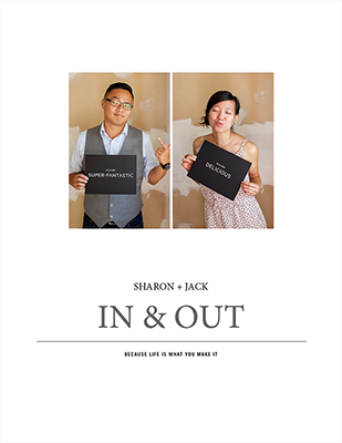 Sharon + Jack :: Award winning engagement album