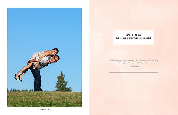 Sharon + Jack :: Award winning engagement album