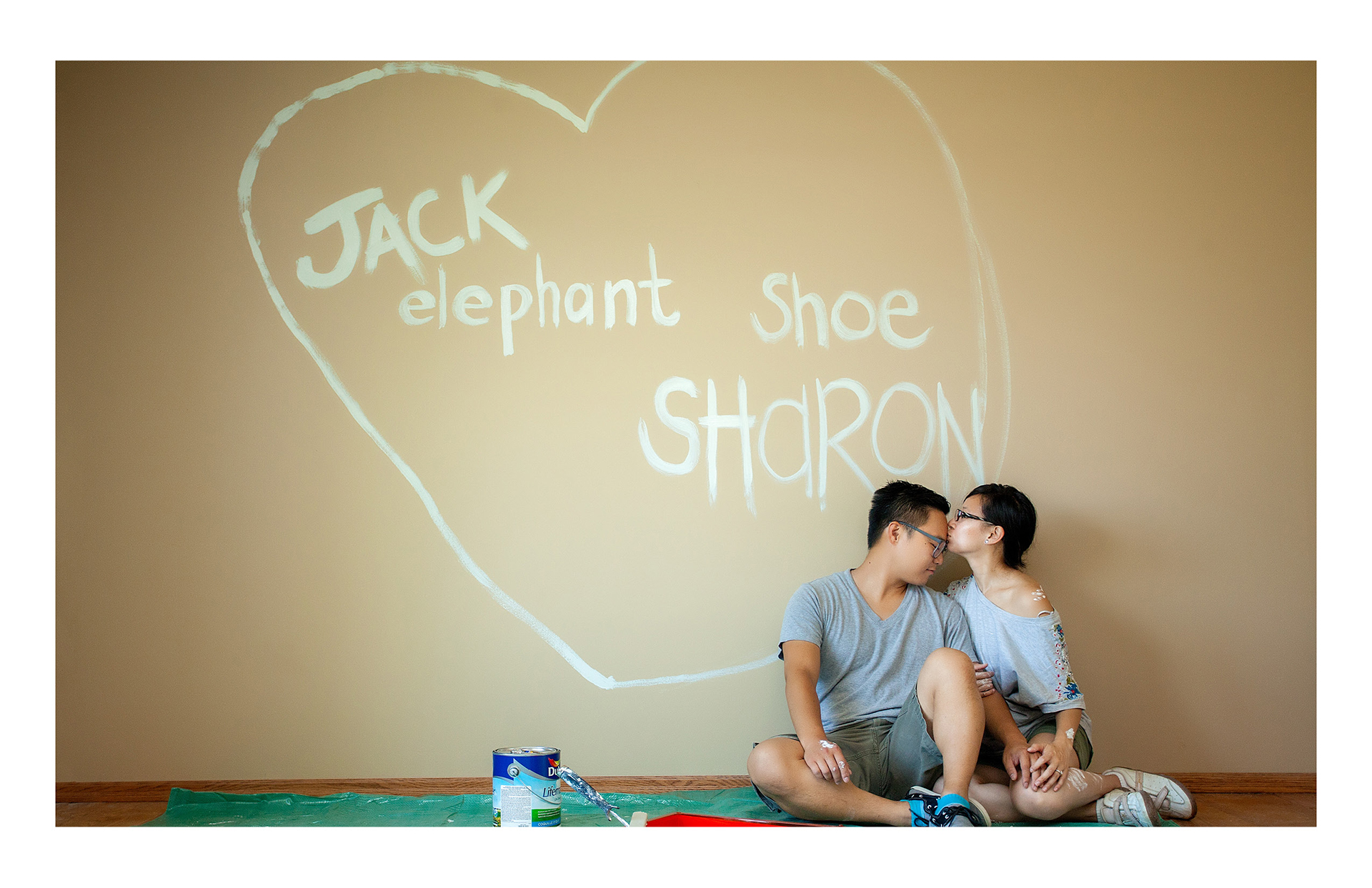 Sharon + Jack :: Engagement Album elephant shoe