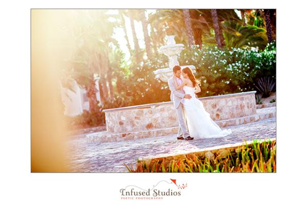 Creative bridal photography