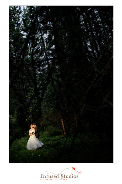 Bridal portraits in Canmore