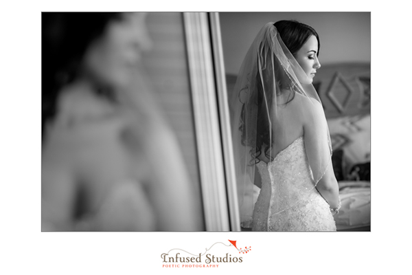 Bridal photography :: reflection