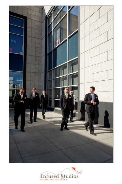 Groom + Groomsmen photography