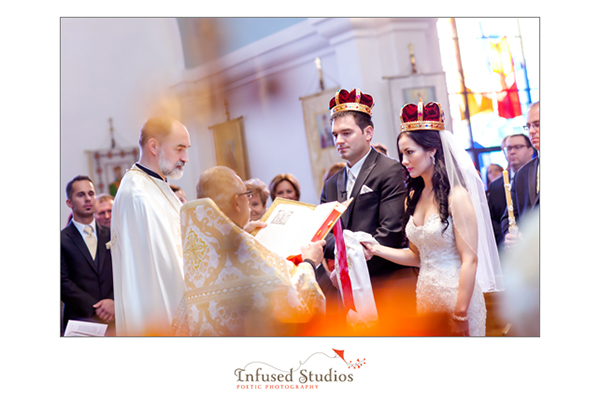 Serbian wedding ceremony