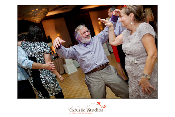 Wedding reception dance floor photography