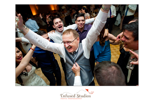 Wedding reception dance floor photos