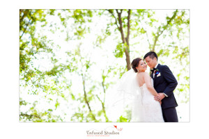 Edmonton Wedding Photographers :: Ada + Henry creative bridal portrait