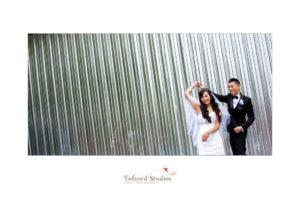 Edmonton Wedding Photographers :: Natalie + Mai creative bridal portrait