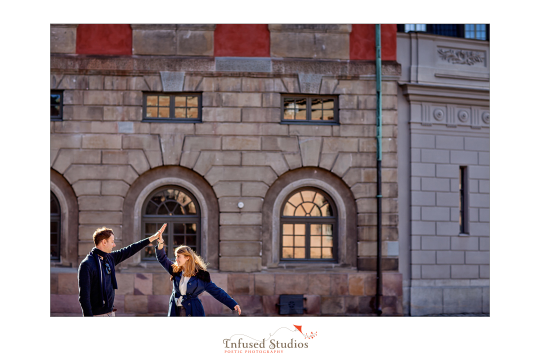 Fine art engagement photography in Sweden