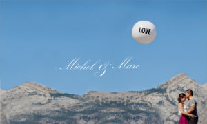 Award winning engagement album cover